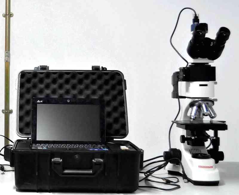 便携式激光共聚焦拉曼光谱仪