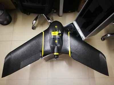 固定翼测绘无人机