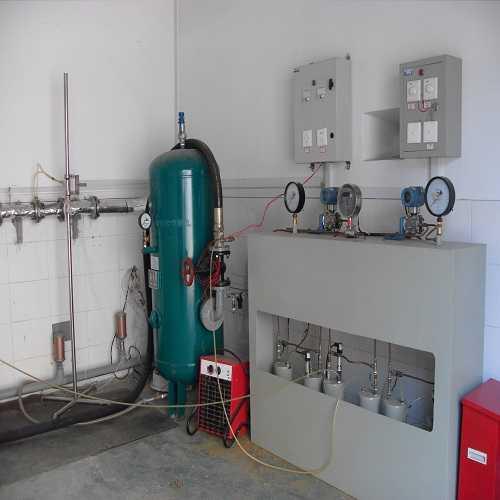 压缩空气后处理设备试验台