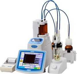 容量滴定卡尔费休水分测定仪