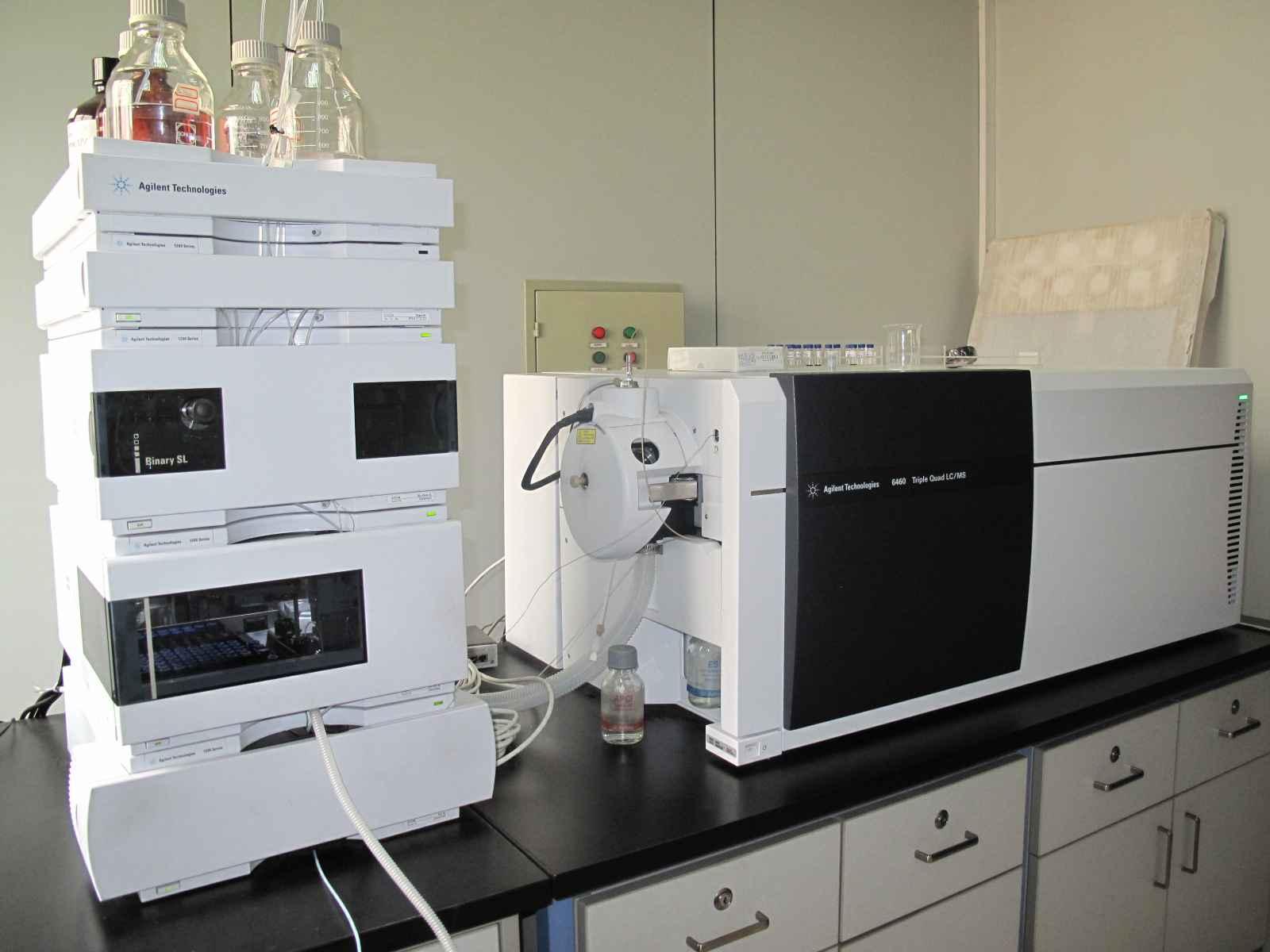 高效液相色谱―串联四级杆质谱仪