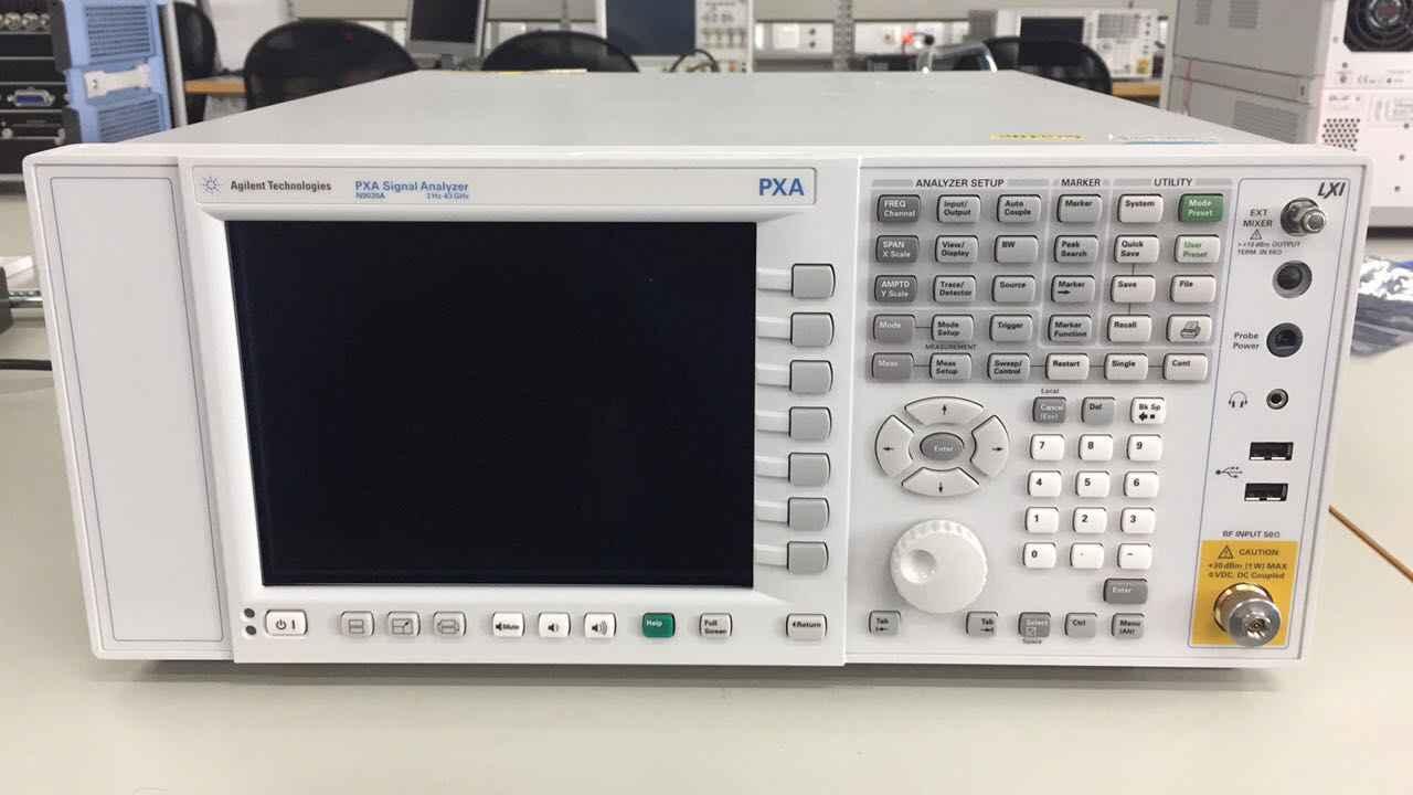 系统测试频谱分析仪