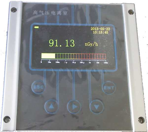在线环境高气压电离室监测仪